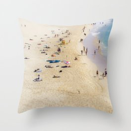 Bondi Dreams Throw Pillow
