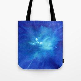Blue Powder Tote Bag