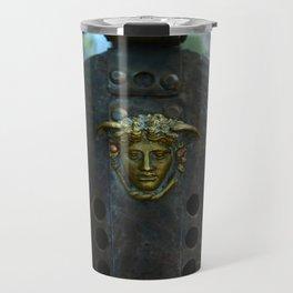 Gladiator metal helmet Travel Mug