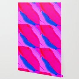 Wavy & Pink Wallpaper