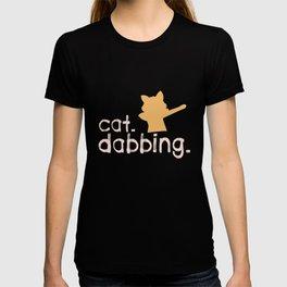Cat Dabbing Dabber Cats Pets Kitten Owners Feline Kitty Animal Lovers Gift T-shirt