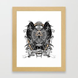 Oligarchy Framed Art Print