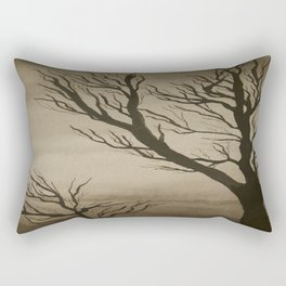 Dark Sunset Rectangular Pillow