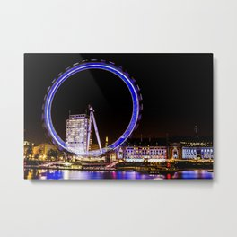 The Eye of London Metal Print