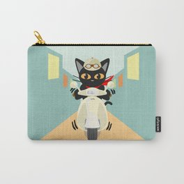 Scooter in the town Carry-All Pouch