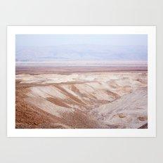 Dead Sea - Wide Art Print
