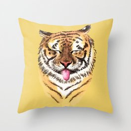 El Tigre Throw Pillow