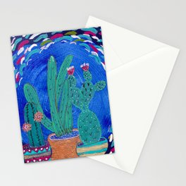 Cactus Odyssey III Stationery Cards