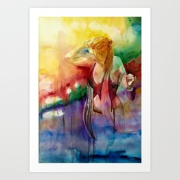 The Journey Gallery:  Dancing With The Universe Art Print