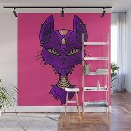 Royal Cat Wall Mural