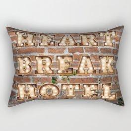 HeartBreak Hotel - Brick Rectangular Pillow