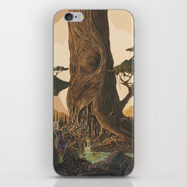 The Ancient Heart Tree iPhone Skin