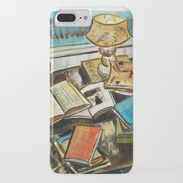 Still Life with Books iPhone Case