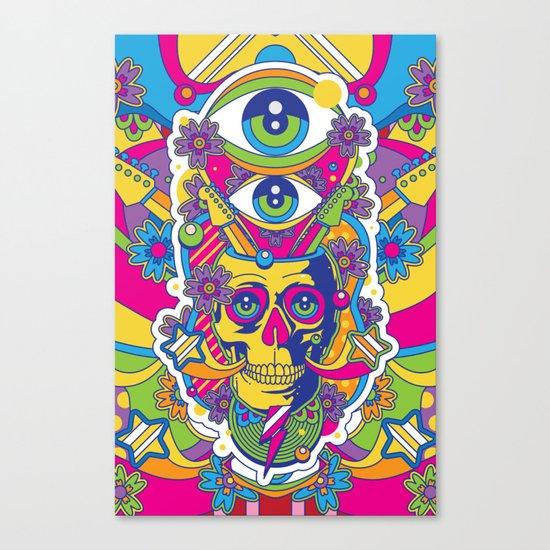 Skulldelic Canvas Print