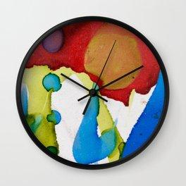 abstract imaginations Wall Clock