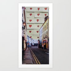 dominick St, Galway Art Print