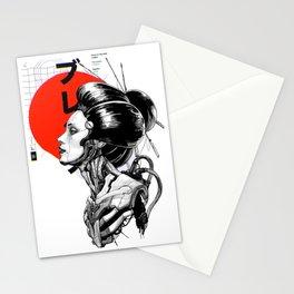 Vaporwave Cyberpunk Japanese Urban Style  Stationery Cards