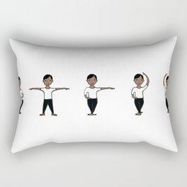 Boy Ballet 3 Rectangular Pillow