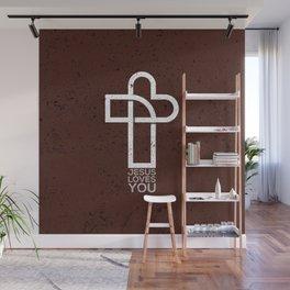 Jesus Loves You Wall Mural