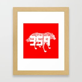 Wolf 359 Framed Art Print