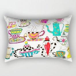 Coffee or Tea? Rectangular Pillow