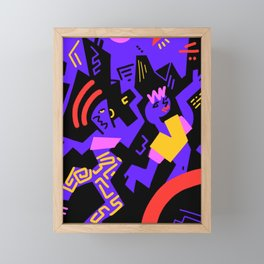 Crazydance Framed Mini Art Print