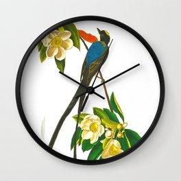Fork-tailed flycatcher Bird Wall Clock