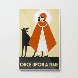 Vintage poster - Little Red Riding Hood Metal Print