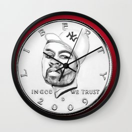 Fifty Cent(s) Wall Clock
