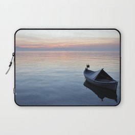 Lonely boat Laptop Sleeve