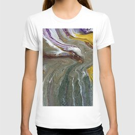 Fluid Acrylic XX - Original, acrylic, abstract painting T-shirt