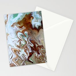 Milk Chocolate with peppermint & cream 3 Stationery Cards