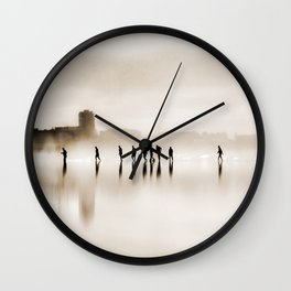 people walk Wall Clock