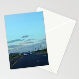 The Long Road Head Stationery Cards