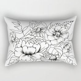 Botanical Bouquet Rectangular Pillow