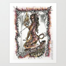 To Hell With It Art Print