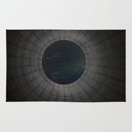 Looking up a Nuclear Cooling Tower Rug