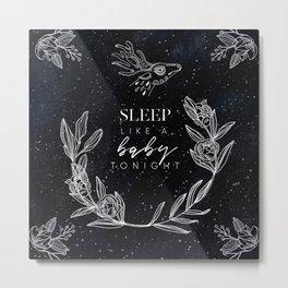 Mysterious Luna #6: Sleep like a baby tonight Metal Print