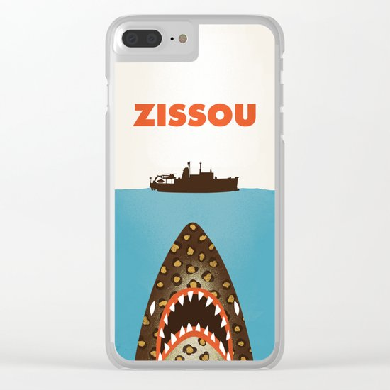 Zissou The Life Aquatic Clear iPhone Case