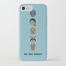 We Are Groot iPhone Case