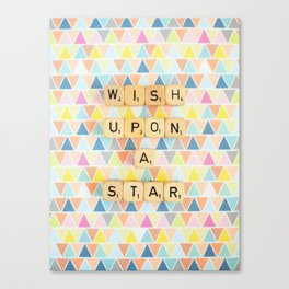 Wish Upon A Star Canvas Print