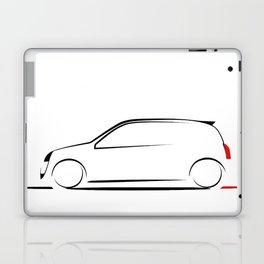 Clio silhouette Laptop & iPad Skin