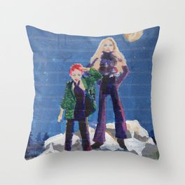 Private girls 16 Throw Pillow