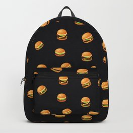 Fun Hamburger Party Pattern Backpack