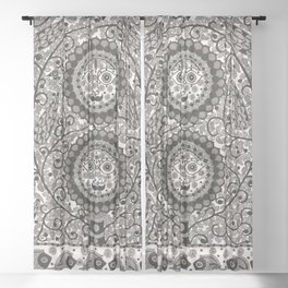 Sun And Moon Sheer Curtain