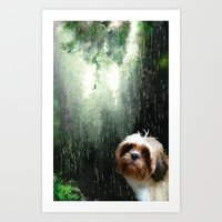 religion Art Prints featuring My religion by Rich Okun