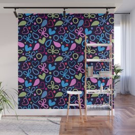 Colorful Lovely Pattern XVIII Wall Mural
