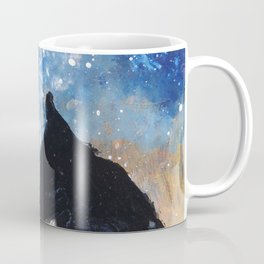Wolf Night Coffee Mug