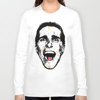 american psycho Long Sleeve T-shirts featuring American Psycho by CultureCloth