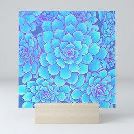 An Ocean of Succulents Mini Art Print